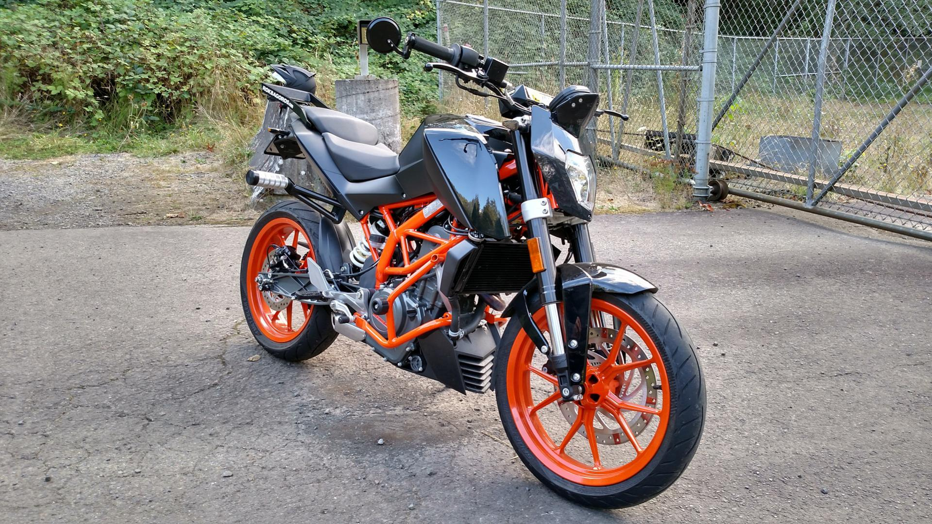 My 390 Is Starting To Look Like A Stunt Bike Ktm Duke 390 Forum