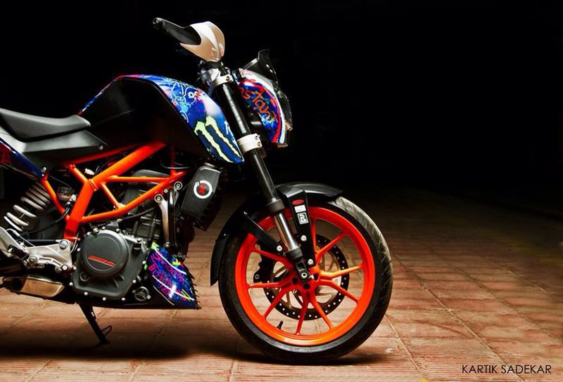 custom stickers ktm duke 390 forum. Black Bedroom Furniture Sets. Home Design Ideas
