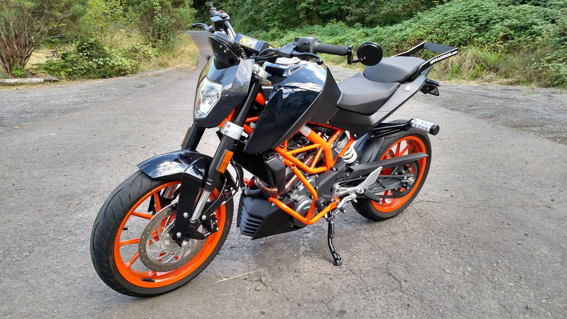 my 390 is starting to look like a stunt bike - ktm duke 390 forum
