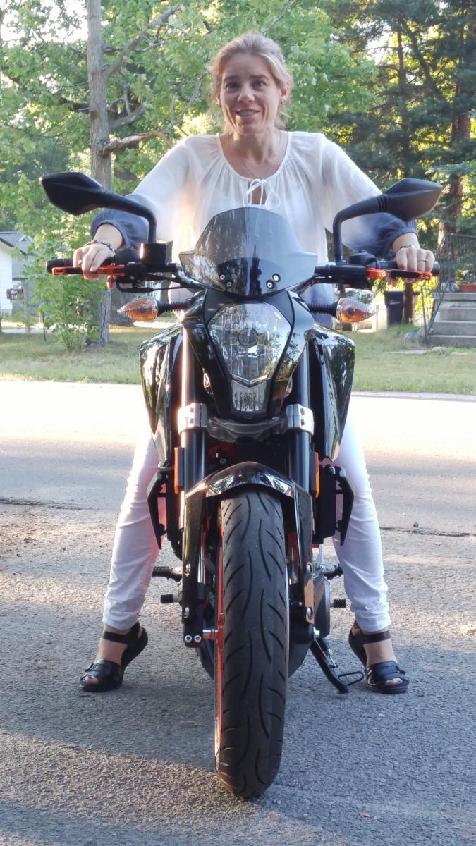 Ktm Duke Rider Height