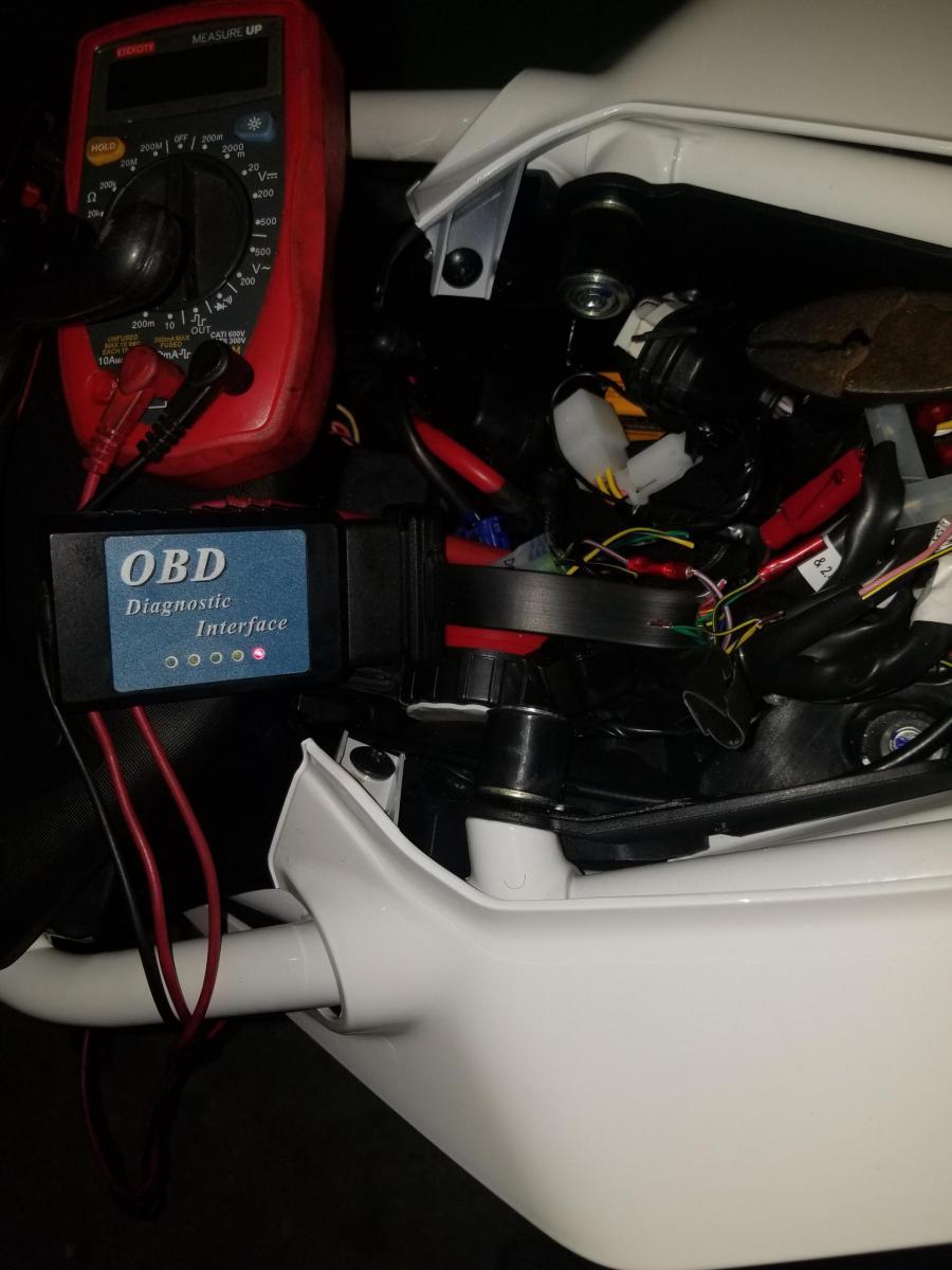 OBD2 connector to 2017 Duke 390 - KTM Duke 390 Forum