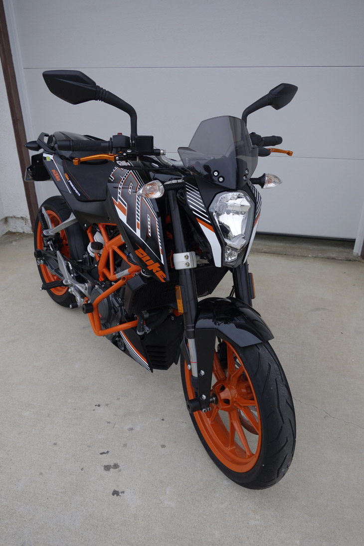 Ktm Duke  Touring Windshield