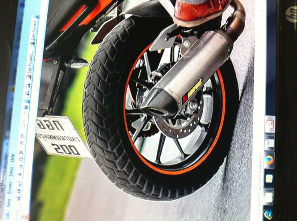 bigger tire size - ktm duke 390 forum