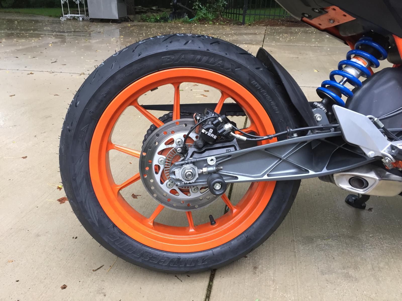 new rear tire - ktm duke 390 forum
