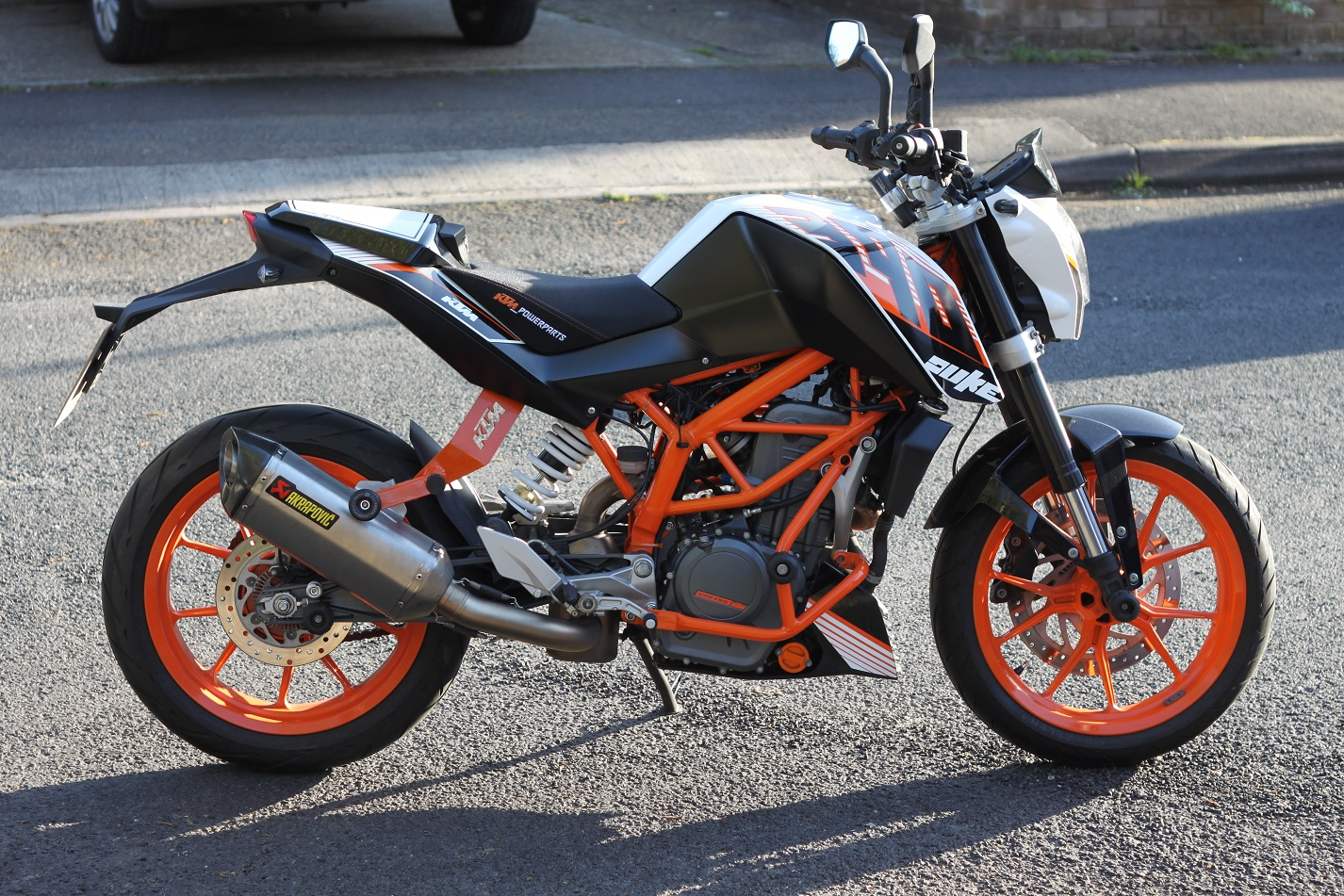 akrapovic exhaust page 15 ktm duke 390 forum. Black Bedroom Furniture Sets. Home Design Ideas