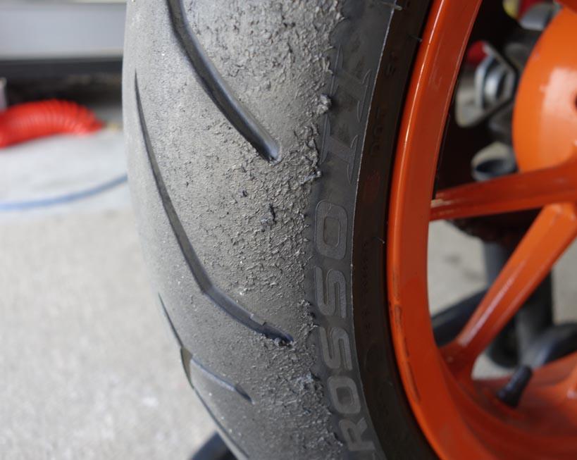 bigger tire size - page 4 - ktm duke 390 forum